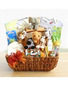 Noah's Ark Arrival Baby Gift Basket
