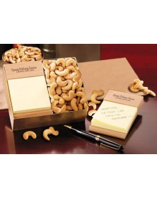 Note Holders with Beech Post-it® Note Holder with Extra Fancy Jumbo Cashews