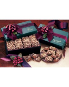 Green Gift Box with English Butter Toffee  (GN121) - Gift Boxes  - Promotional Food Gifts | Printez.com