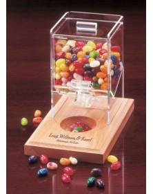 Desktop Candy Dispensers with Desktop Dispenser with Multi-Color Assortment