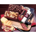 Shelf-Stable Party Starter  (L355) - Cheese & Sausage  - Promotional Food Gifts | Printez.com