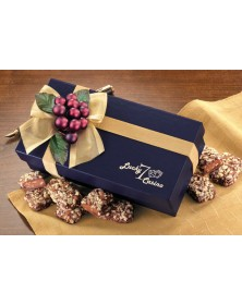 Navy Gift Box with English Butter Toffee  (NV121) - Gift Boxes  - Promotional Food Gifts | Printez.com