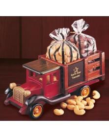 Classic 1925 Stake Truck with Milk Chocolate Almonds & Jumbo Cashews