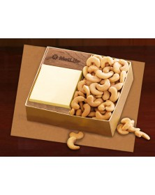 Note Holders with Walnut Post-it® Note Holder with Extra Fancy Jumbo Cashews