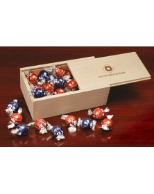 Wooden Collector's Boxes - Lindt-Lindor Chocolate Truffles