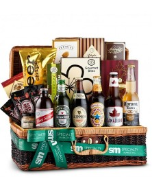 Birthday Beer Basket