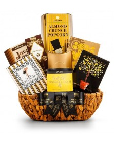 Golden Celebration Gift Basket