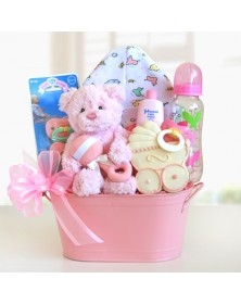 Cute Package New Baby Gift Baskets