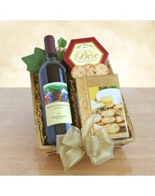 California Wine and Cheese Baskets
