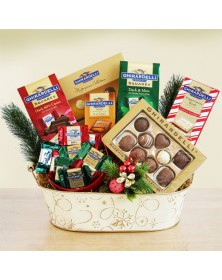 Ghirardelli Christmas Chocolate Gift Basket