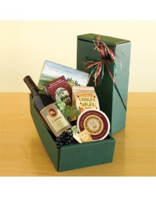 Classic Wine Thanksgiving Gift Box