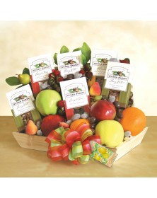 Nutty Fruit Basket