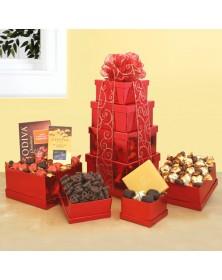 Tower of Godiva Chocolate
