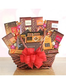 Ultimate Godiva Chocolate Gift Basket