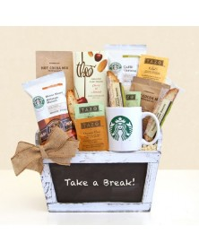Starbucks Break Time Coffee Gift Baskets