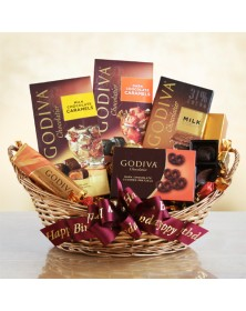 Godiva Chocolate Birthday Gift Baskets