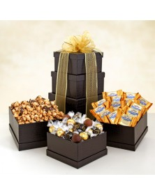 Ebony Tower Holiday Chocolate Gifts