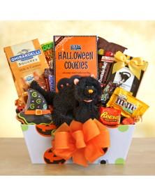 Meooow! Halloween Gift Basket