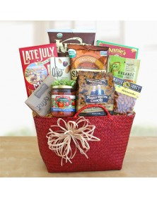 Delectable Organic Gift Baskets