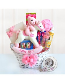 Rocking Girl Baby Baskets