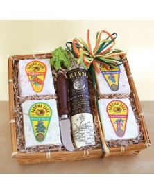 Sonoma Jack Cheese Sampler basket