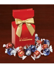 Red Premium Delights with Lindt-Lindor Chocolate Truffles