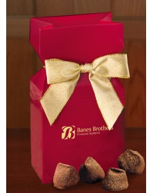 Red Premium Delights with Cocoa Dusted Truffles