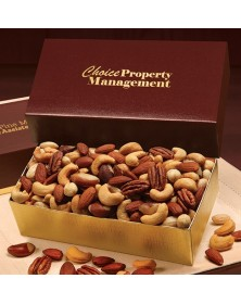 Burgundy Deluxe Mixed Nuts