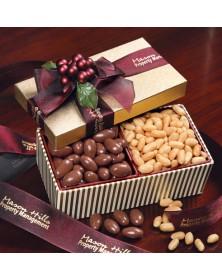 Milk Chocolate Almonds & Choice Virginia Peanuts
