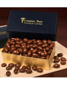 Navy Chocolate Covered Almonds