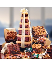 Burgundy Chocolate of Elegance Towers