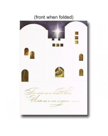An Open Window  (XGFI71203-12) - Religious  - Holiday Cards | Printez.com