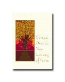 Rosh Hashanah - Canopy (YM05E5U-32) - Religious  - Holiday Cards | Printez.com