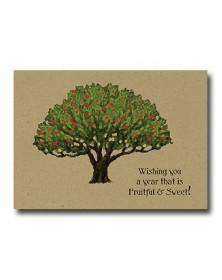 Rosh Hashanah - Fruitful (YM58XM-17) - Religious  - Holiday Cards | Printez.com