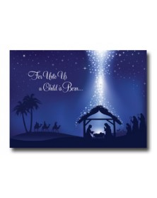 Blessings Bestowed  (XG83L6M-92) - Religious  - Holiday Cards | Printez.com