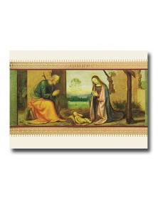 Predella with Nativity  (XGC71065-32) - Religious  - Holiday Cards | Printez.com