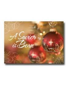 Nativity Ornament (XGH72317-12) - Religious  - Holiday Cards | Printez.com