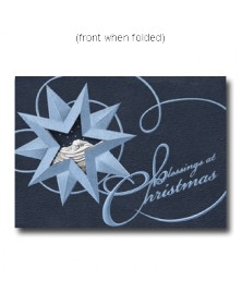 Blessings at Christmas  (XGM0571-13) - Religious  - Holiday Cards | Printez.com