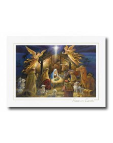 Nativity Scene  (XGM70564-12) - Religious  - Holiday Cards | Printez.com