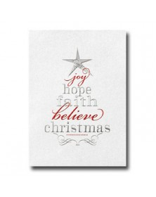 Wording Tree (XGM70567-11) - Religious  - Holiday Cards | Printez.com