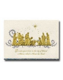 Golden Glory (XGM79074-85) - Religious  - Holiday Cards | Printez.com