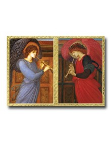 Angel Duet  (XZE71218-167) - Religious  - Holiday Cards | Printez.com