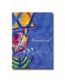 Hanukkah - Symbols  (YM07Y5M-12) - Religious  - Holiday Cards | Printez.com