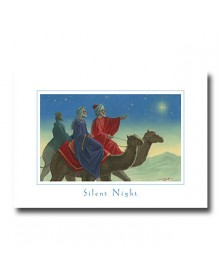 Silent Night  (YM83XXQ-92) - Religious  - Holiday Cards | Printez.com