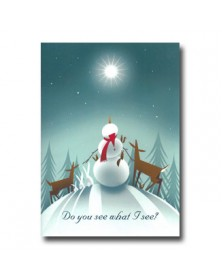 What I See (YM9864D4V-92) - Religious  - Holiday Cards | Printez.com