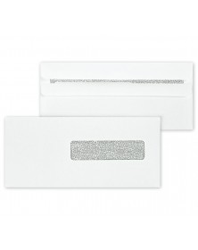 HCFA Blank Self Seal Envelope, Right Window