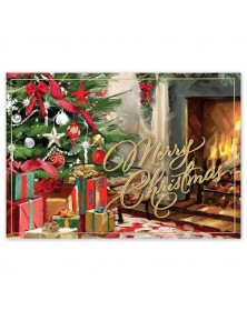 Festive Fireside Christmas Cards