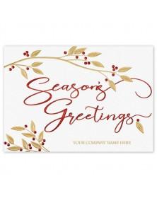Holly & Harmony Holiday Cards