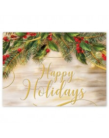 Pine of Gold  Holiday Cards