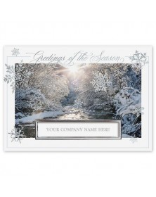 Snowflake Bliss Holiday Cards